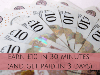 Earn £10 in 30 minutes with OhMyDosh (and get paid in 3 days)....
