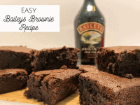 Easy Baileys Brownies Recipe!