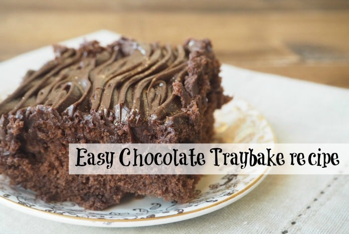 Easy Chocolate Traybake recipe
