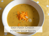 Easy Cheesy Potato Soup Recipe...