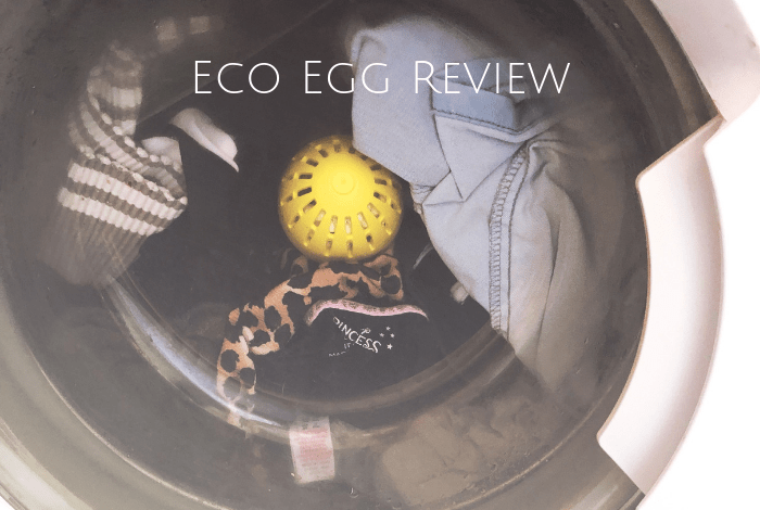 Eco egg in the washing machine!