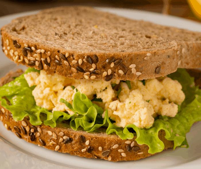 Egg Mayo sandwiches