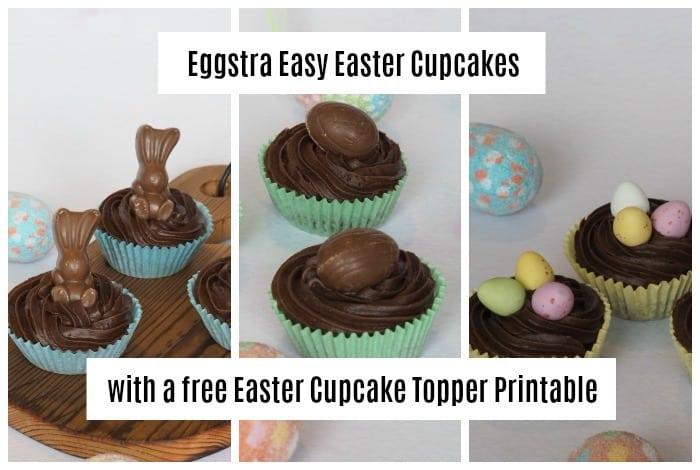 Eggstra Easy Easter Cupcakes