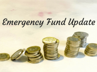 Emergency Fund Update....
