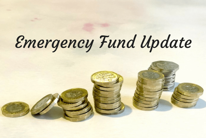 Emergency Fund Update