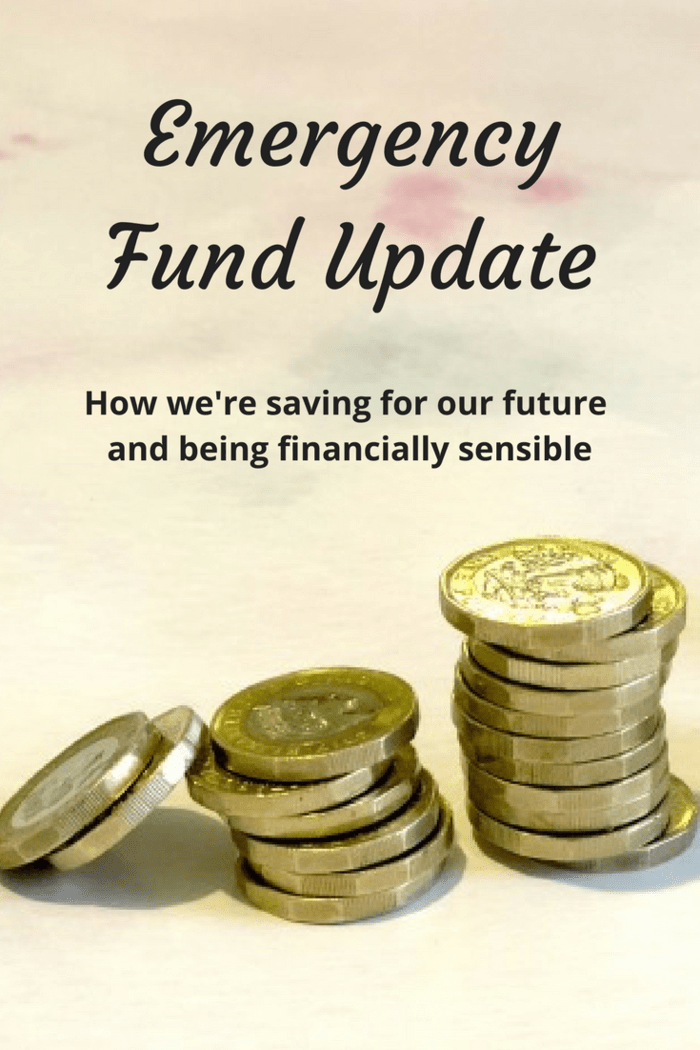 Emergency Fund Update - how we're saving for our future and being financially sensible!