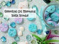 Essential Oil Mermaid Bath Bombs....