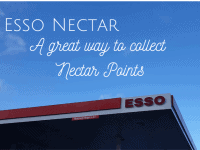 Esso Nectar - a great way to collect Nectar Points....