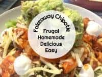 Homemade Fakeaway Chipotle....