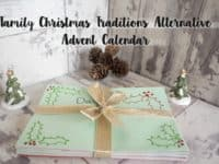 Christmas Family Traditions Alternative Advent Calendar....