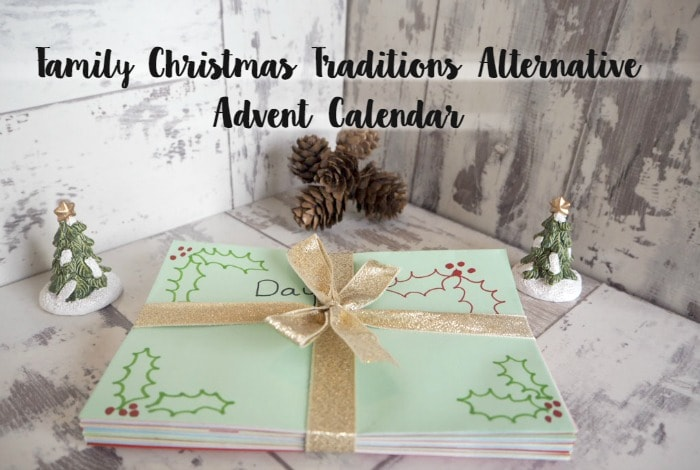 Christmas Family Traditions Alternative Advent Calendar