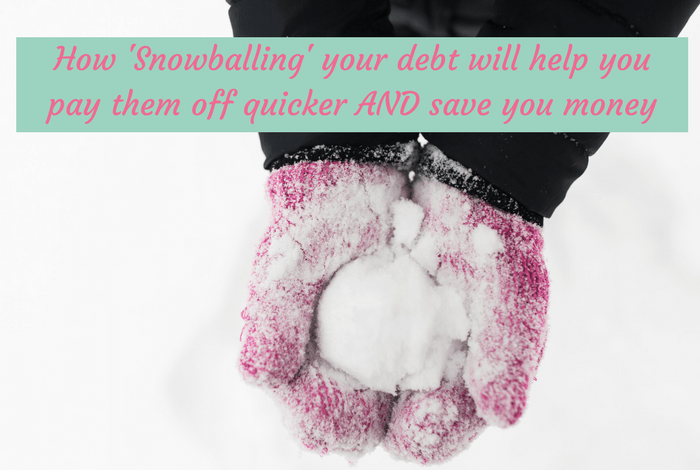 How Snowballing your debts will help you pay them off quicker AND save you money....
