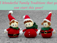 16 Wonderful family traditions to start this year....
