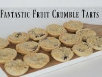 Autumn fruit crumble tarts to make your mouth water....