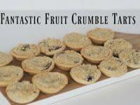 Amazing Autumn fruit crumble tarts....