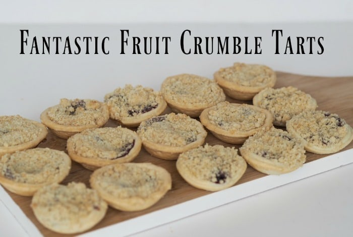 Fantastic Fruit Crumble Tarts