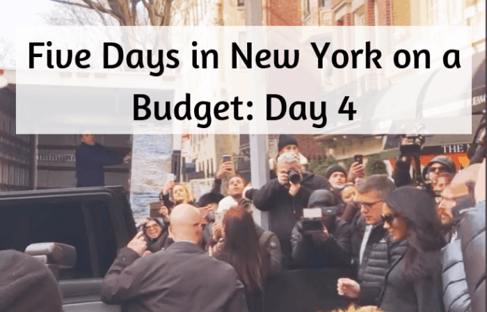 Five Days in New York on a Budget_ Day 4