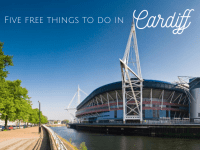 Five free things to do in Cardiff....