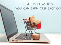 Earn cashback on your guilty pleasure purchases....