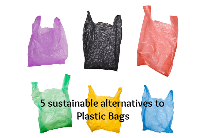 Five alternatives to plastic bags.