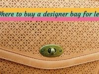 Five places to buy designer handbags for less....