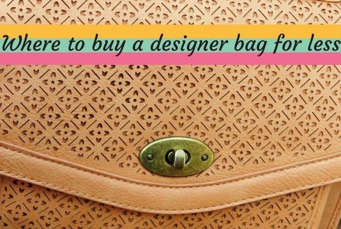 Where you can buy designer handbags for less