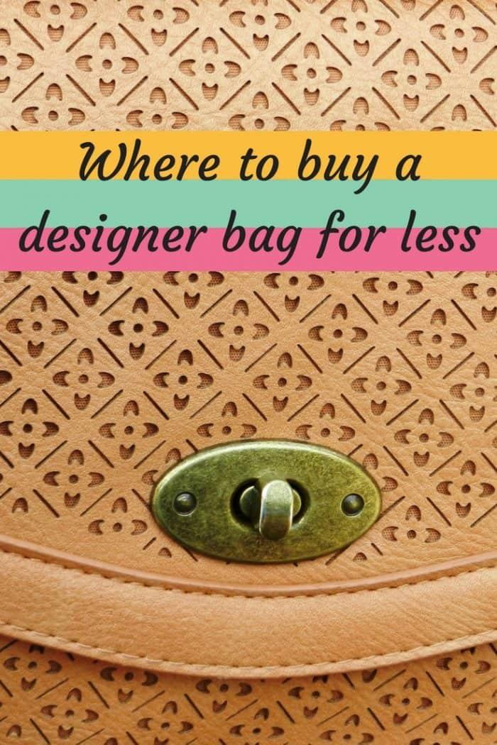 Five place to buy a designer handbag for less