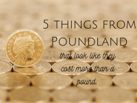 Five things from Poundland that look like they cost more than a pound....
