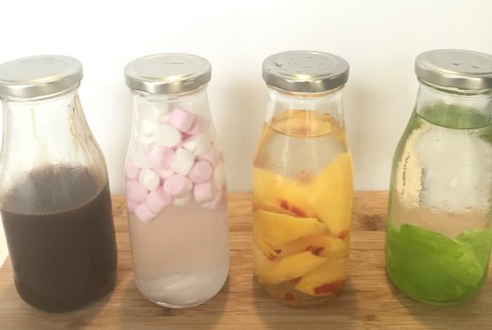 Flavoured vodkas