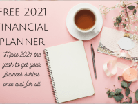 FREE Financial Planner to make 2021 your money year....