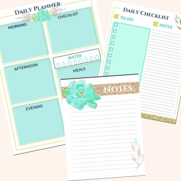 Free Planner Printable - Amazing free printable life planner!