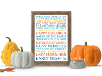 Free Poster Maker: Reasons to be thankful....
