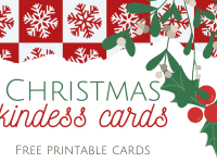 Christmas Kindness Cards....
