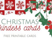 Christmas Kindness Cards....