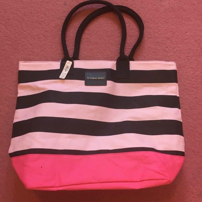 Free bag at Victorias Secrets