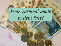 How to go from Survival Mode to Debt Free....