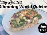 Slimming World Quiche - the Fully Loaded version.....