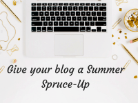 Give your blog a Summer Spruce-Up....
