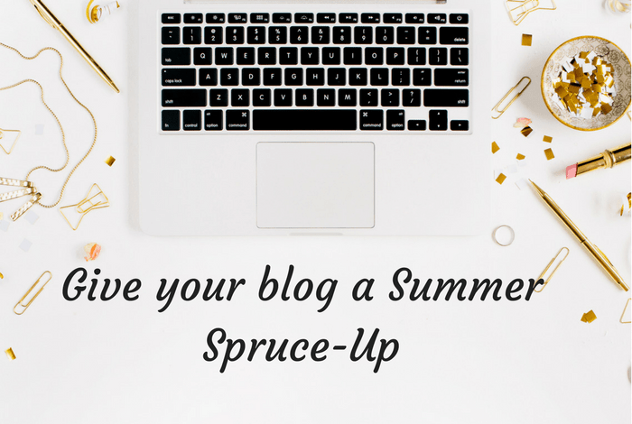 Give your blog a Summer Spruce-Up