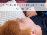 Giving the gift of sleep this Christmas....