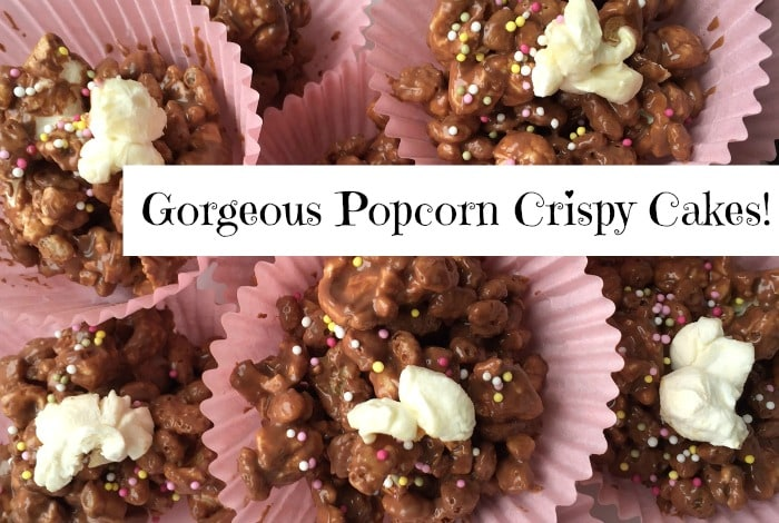 Gorgeous Popcorn Crispy Cakes!