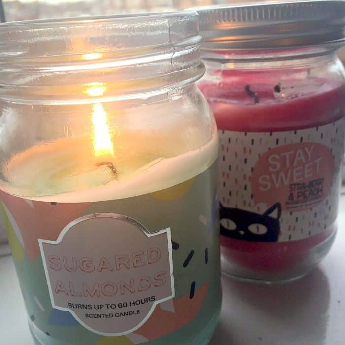 Gorgeous candles from Primark