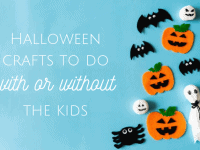 12 Spooky Ghost Crafts to do with or without the kids....