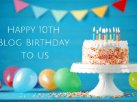 Happy 10th Blog Birthday to The Diary of a Frugal Family....