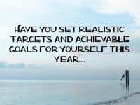 Why you NEED to set realistic targets....