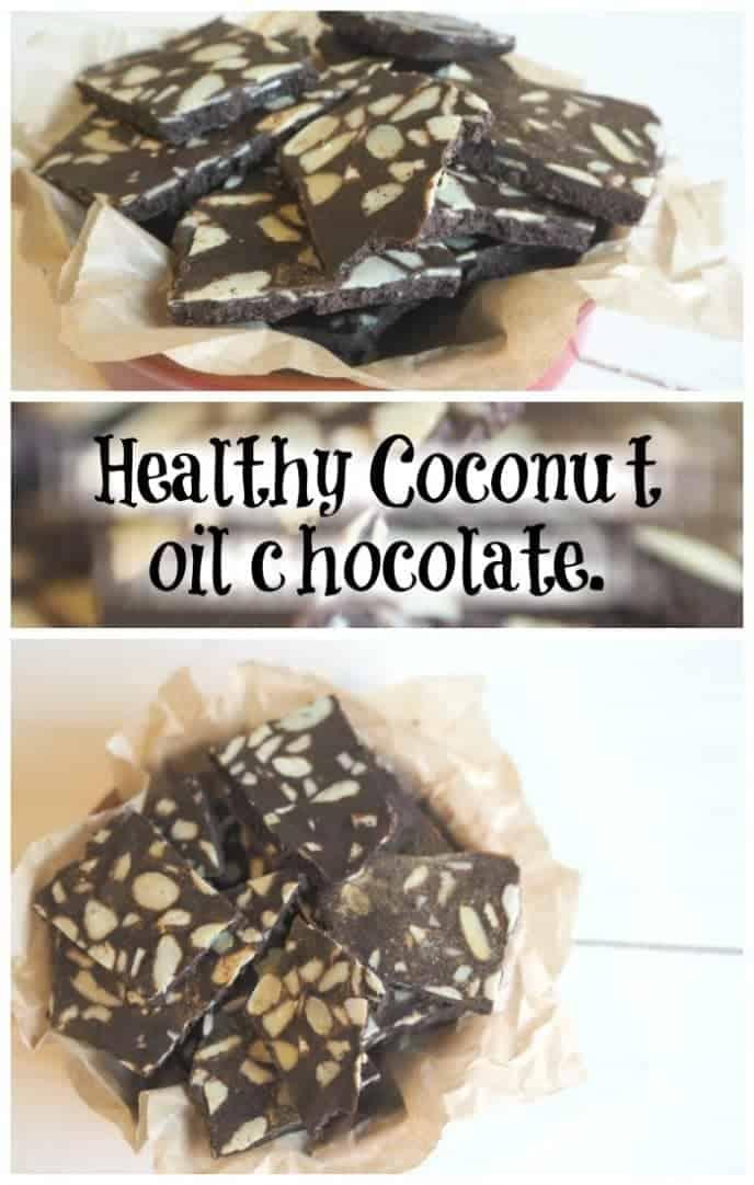 Healthy Coconut oil chocolate....