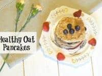Healthy Oat Pancakes....