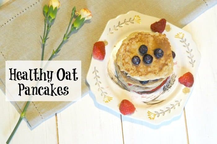 Healthy Oat Pancakes {Cheap to make, delicious to eat AND Free on Slimming World}….