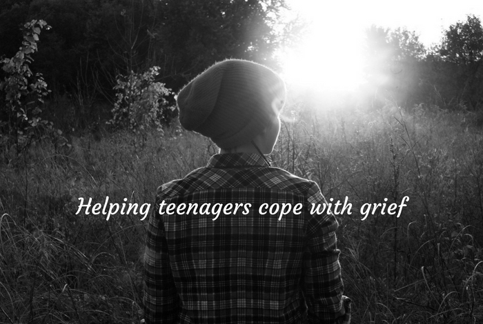 Helping teenagers cope with grief