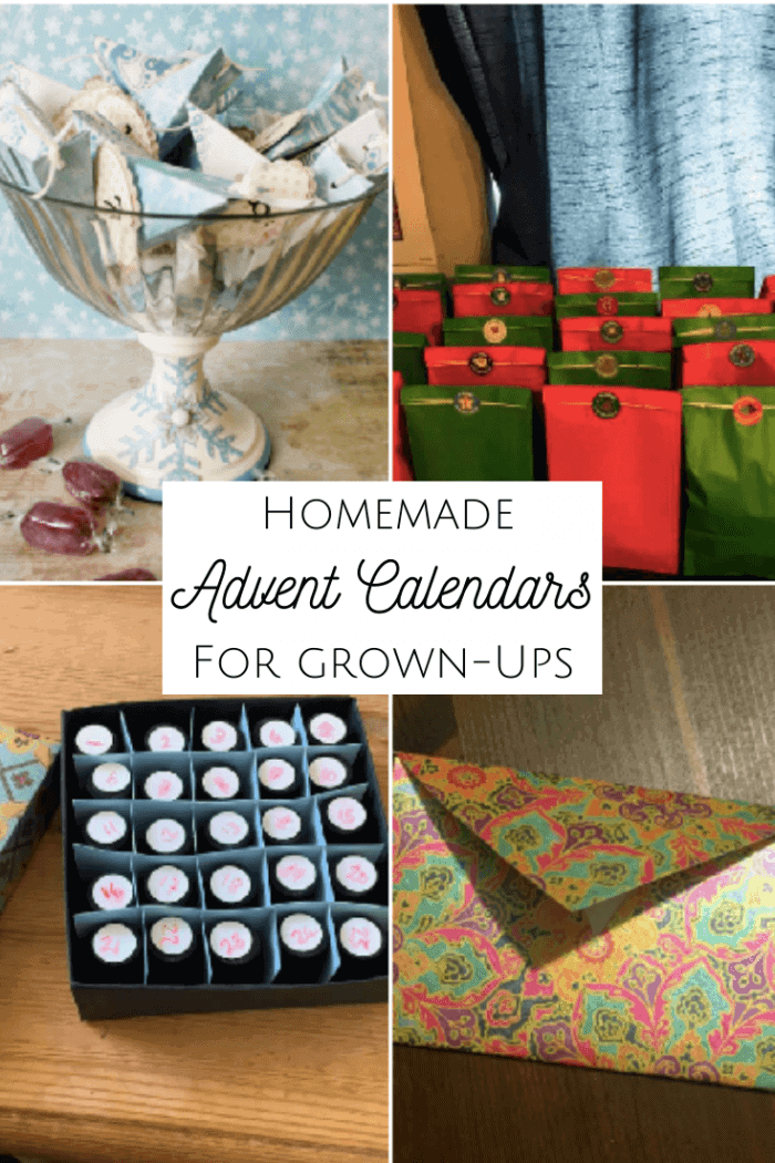 Homemade Advent Calendars for grown-ups!
